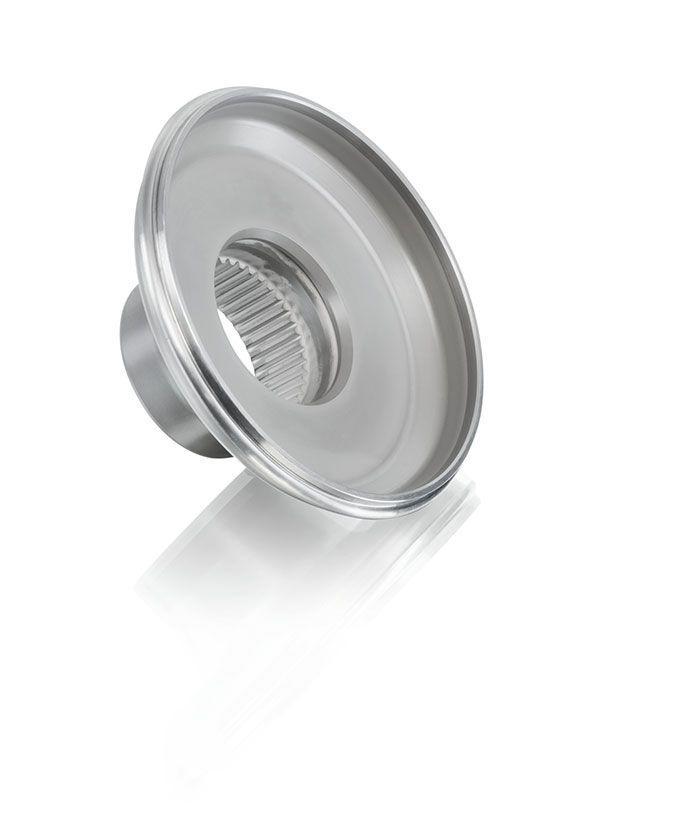 Partielles Plasmanitrocarburieren von Naben für KFZ-Getriebe