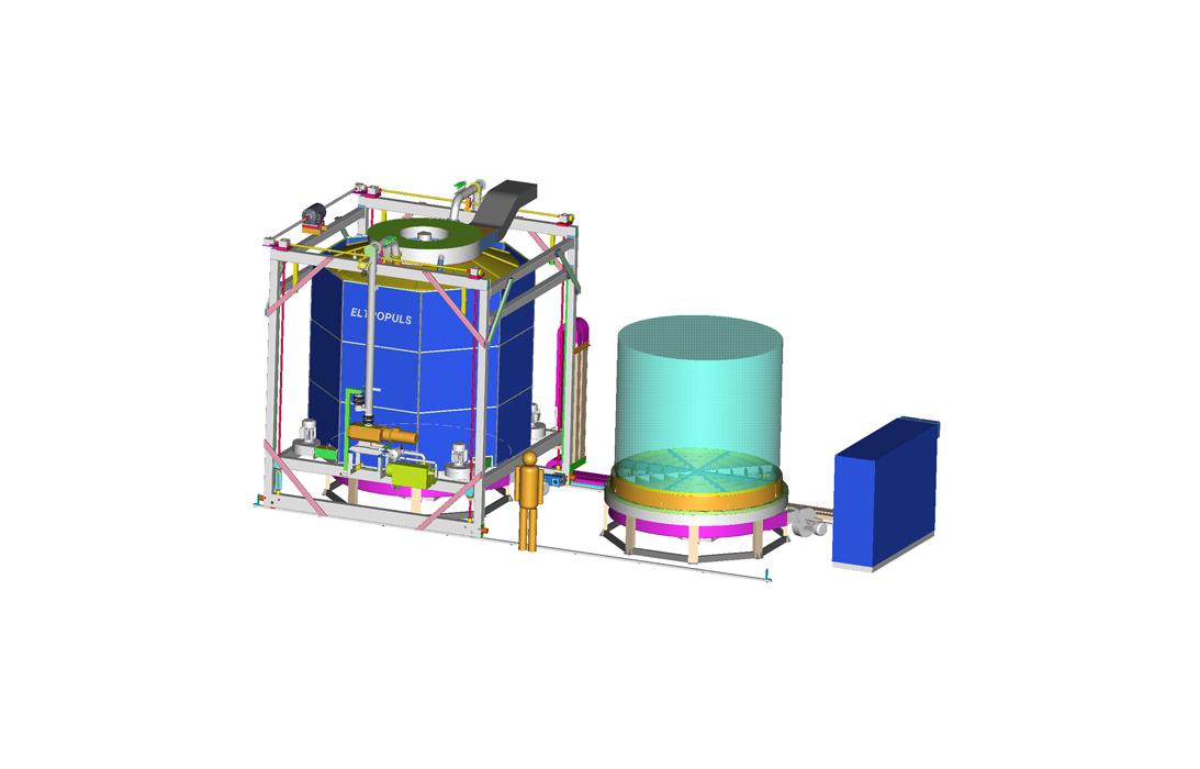 Plant engineering Plasma nitriding systems